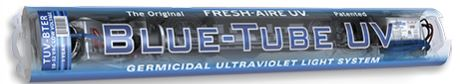 blue tube uv light