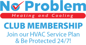 no problem heating and cooling membership