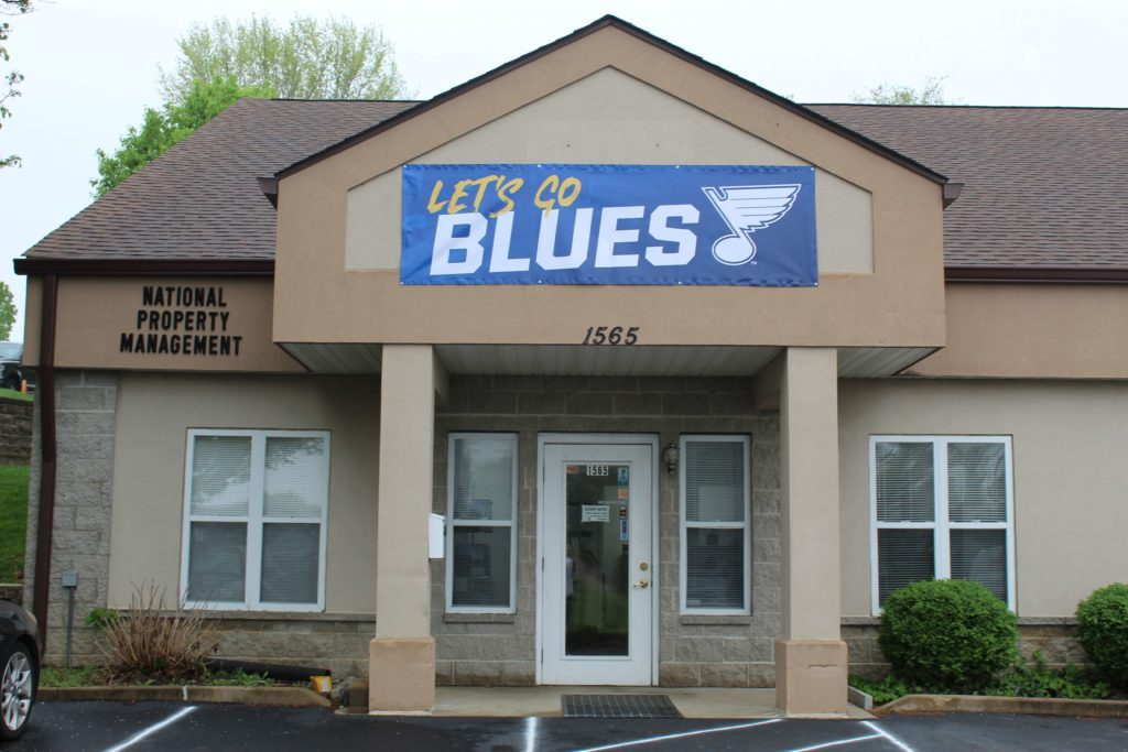 No Problem Heating & Cooling supports the St. Louis Blues in their playoff run.
